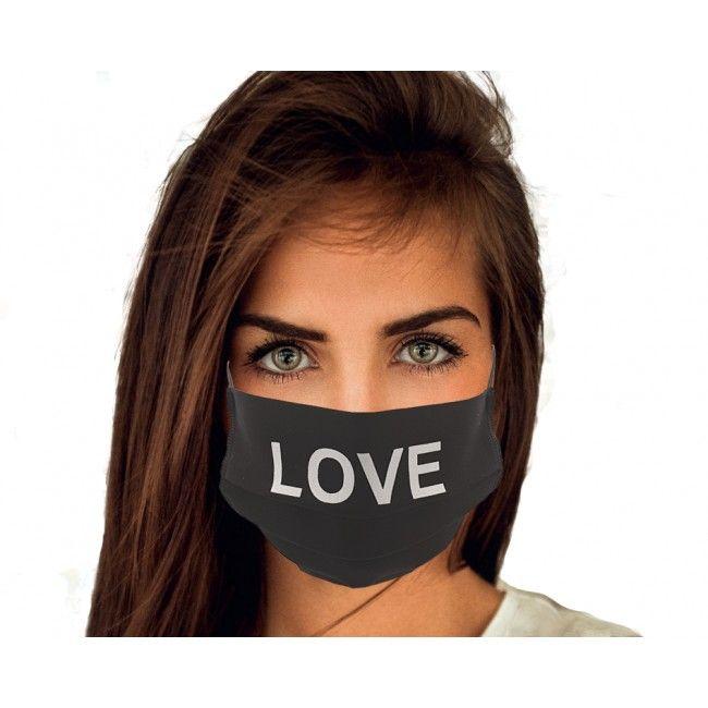 Message love noir